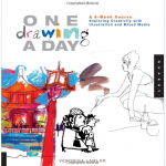 One drawing a day tutorial from Studio 1482 (Quarry)